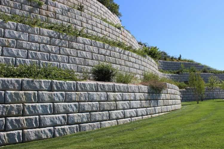 retaining wall supplier San Jose